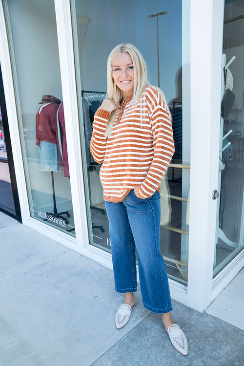 Emmeline Striped Sweater