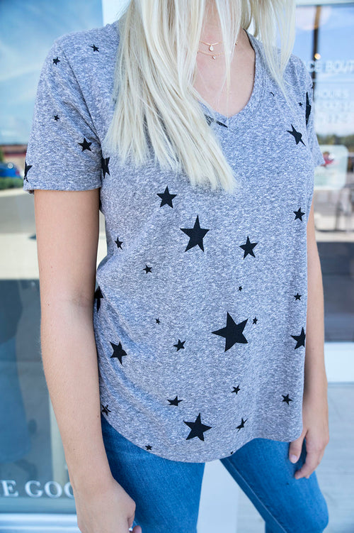Z Supply Triblend Scatter Star Tee
