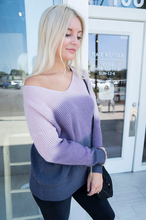 Sansa V-Neck Sweater FINAL SALE