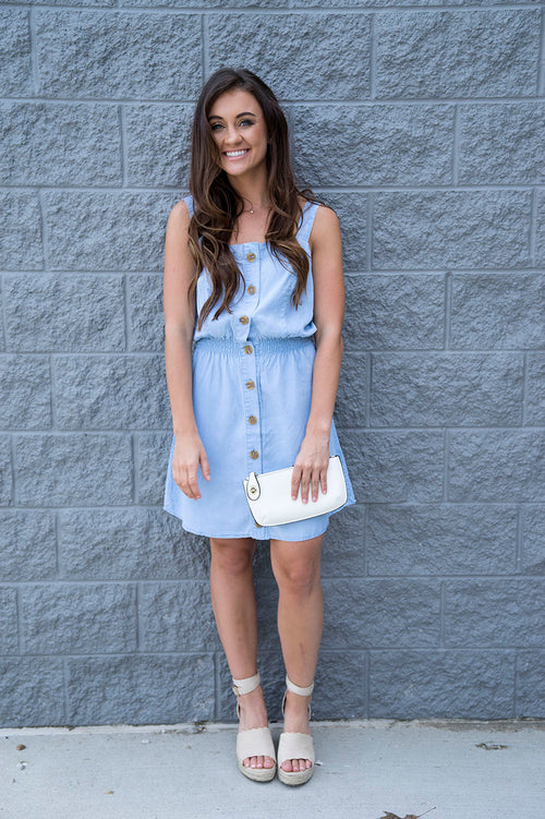 Gaia Chambray Dress