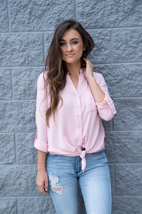Rian Button Up Top