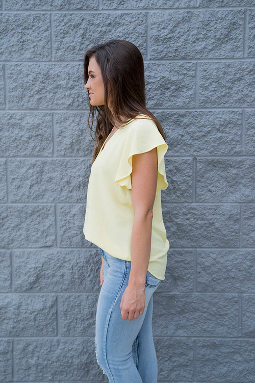 Eleanor Top (Lemon)
