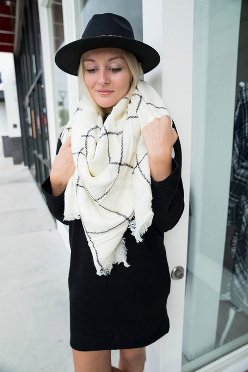 Mountain Peak Blanket Scarf