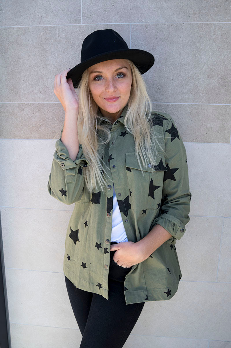 Sierra Star Print Jacket