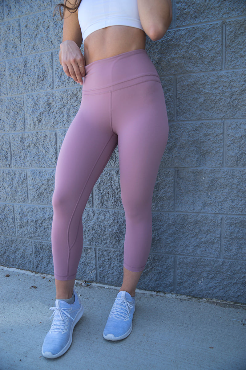 Lux High Waist Capris (Figue)