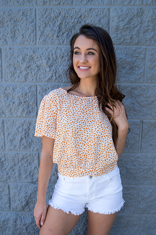 Tinley Tie Back Top