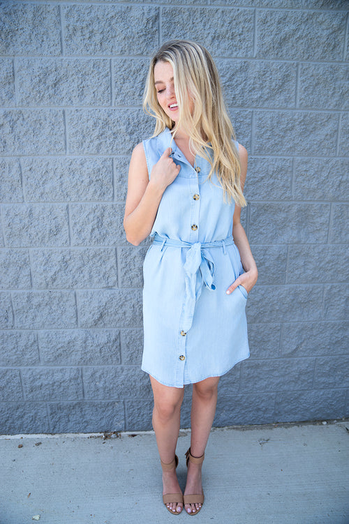 Eastyn Chambray Dress