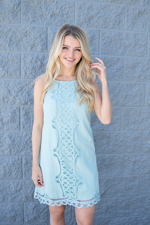 Rosana Crochet Lace Dress