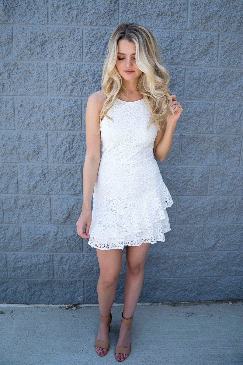 Lucia Lace Cami Dress