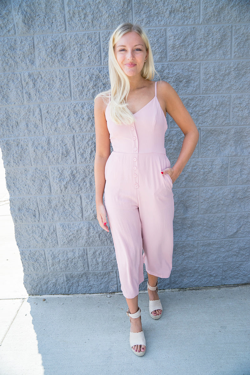 Azalea Bow Back Jumpsuit