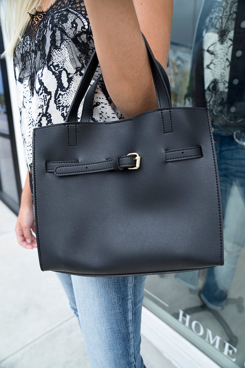 Mallory Handbag (Black)