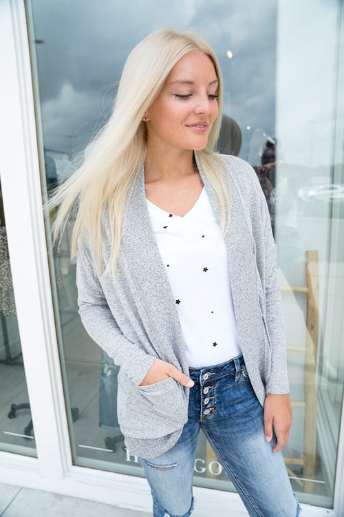 Z Supply The Marled Knit Cardigan