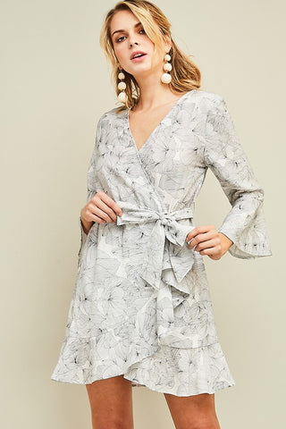 Blayke Chiffon Floral Dress