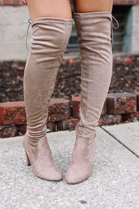 Donelle Boot - Taupe