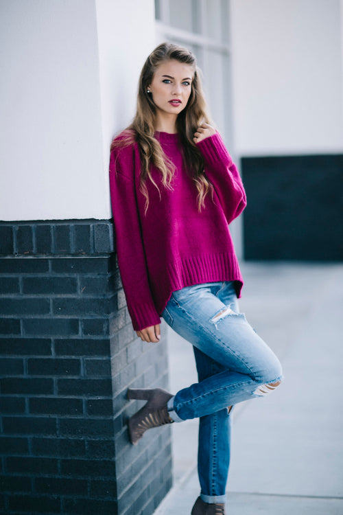 Very You Sweater - Orchid FINAL SALE