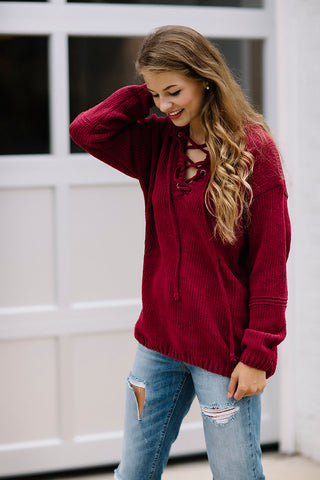 Wonderland Sweater FINAL SALE