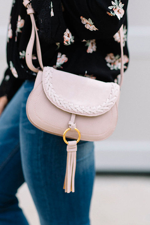 Maci Convertible Handbag - Blush