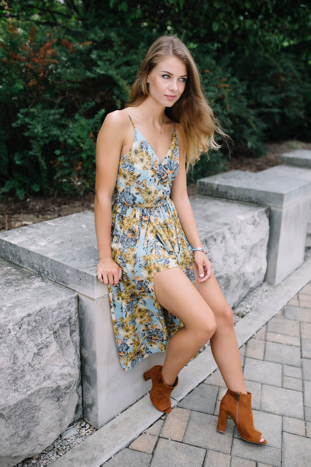 Written In Stone Romper Maxi
