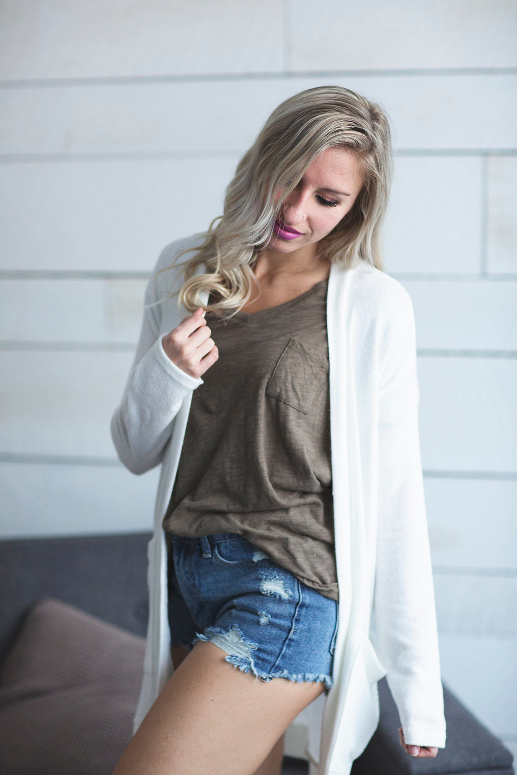 Best Of The Best Cardigan (Ivory)