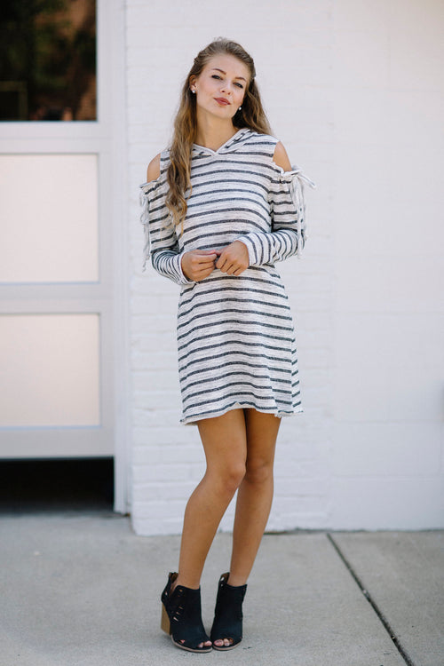 Bonfire Babe Hooded Dress