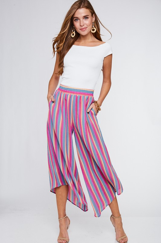Samara Striped Pants - PREORDER