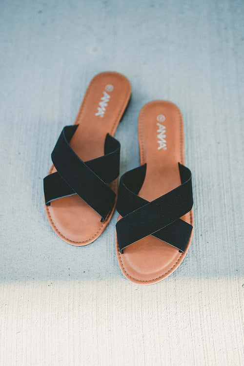 Anna Criss-Cross Sandals FINAL SALE