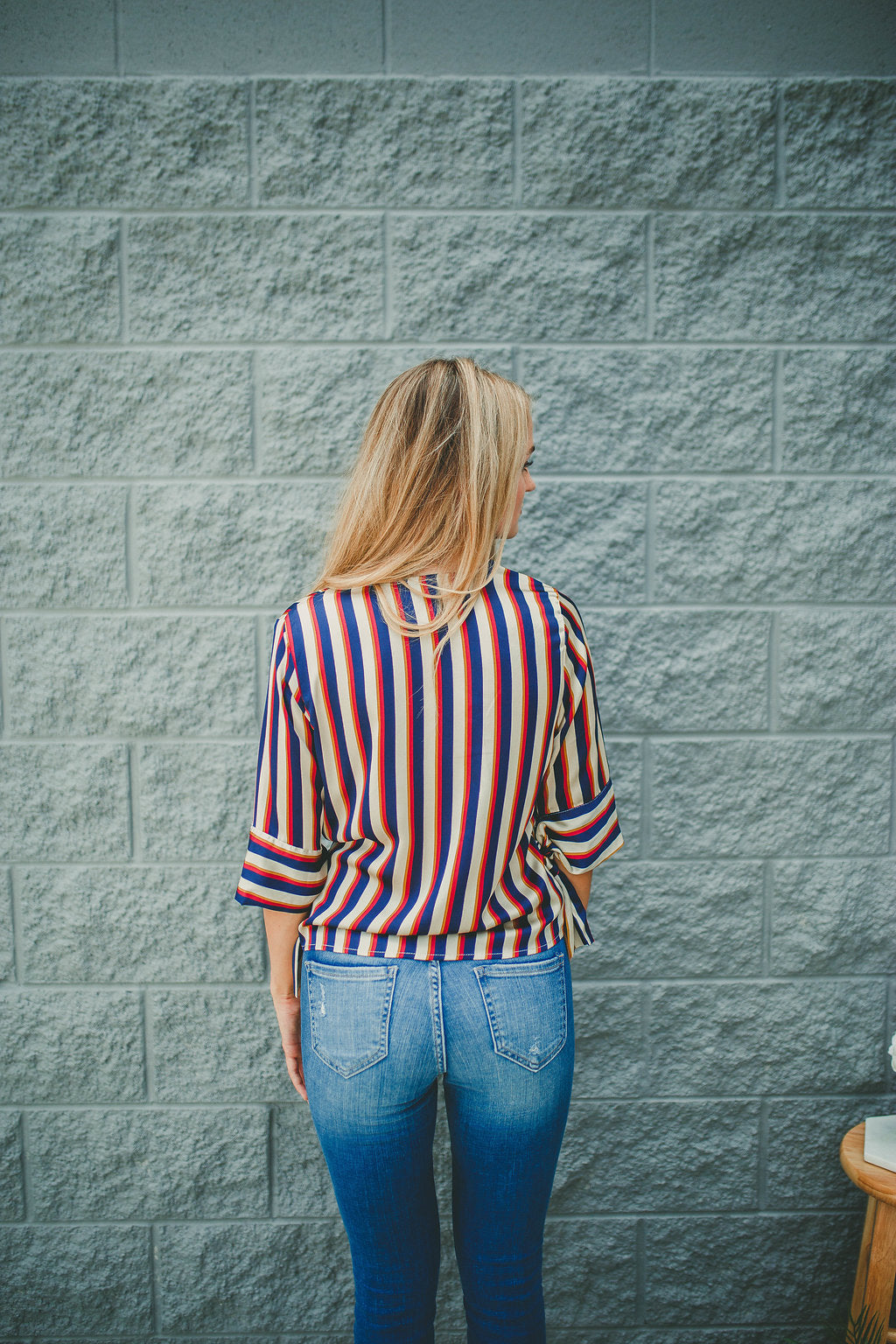 Free Ride Striped Top