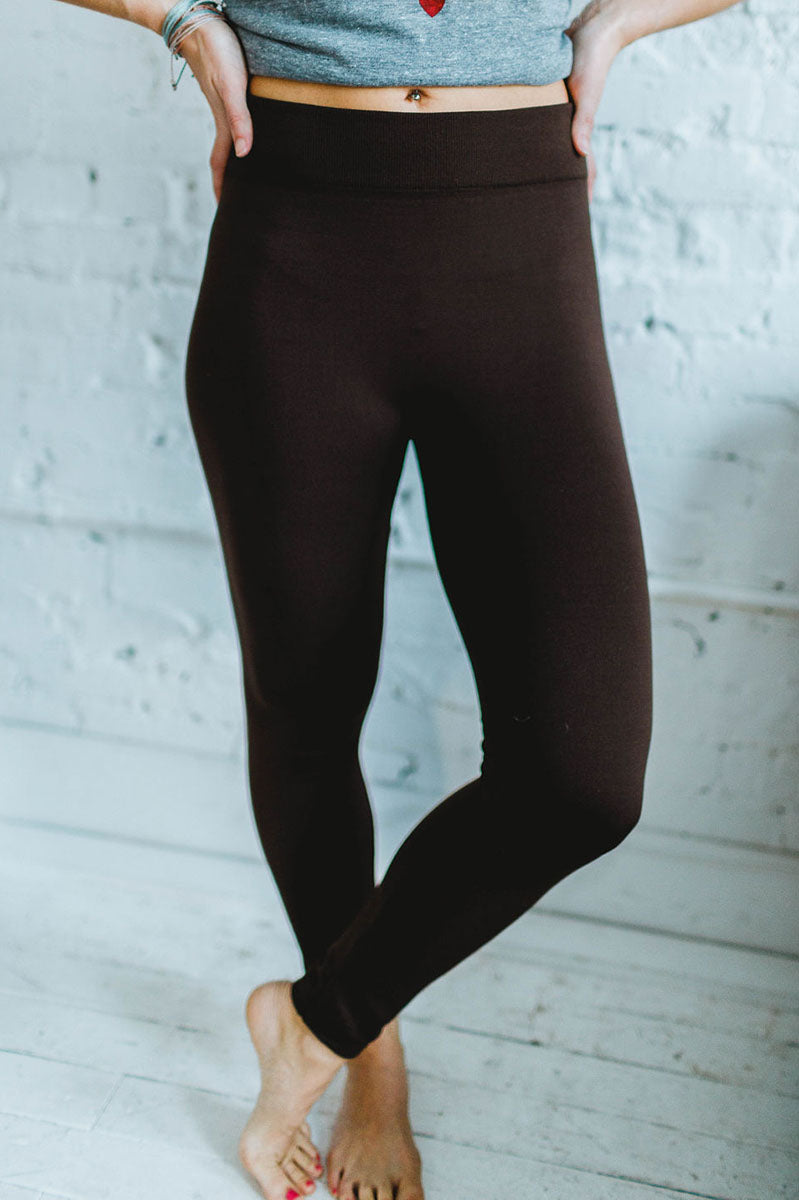 Fleece Leggings - FINAL SALE
