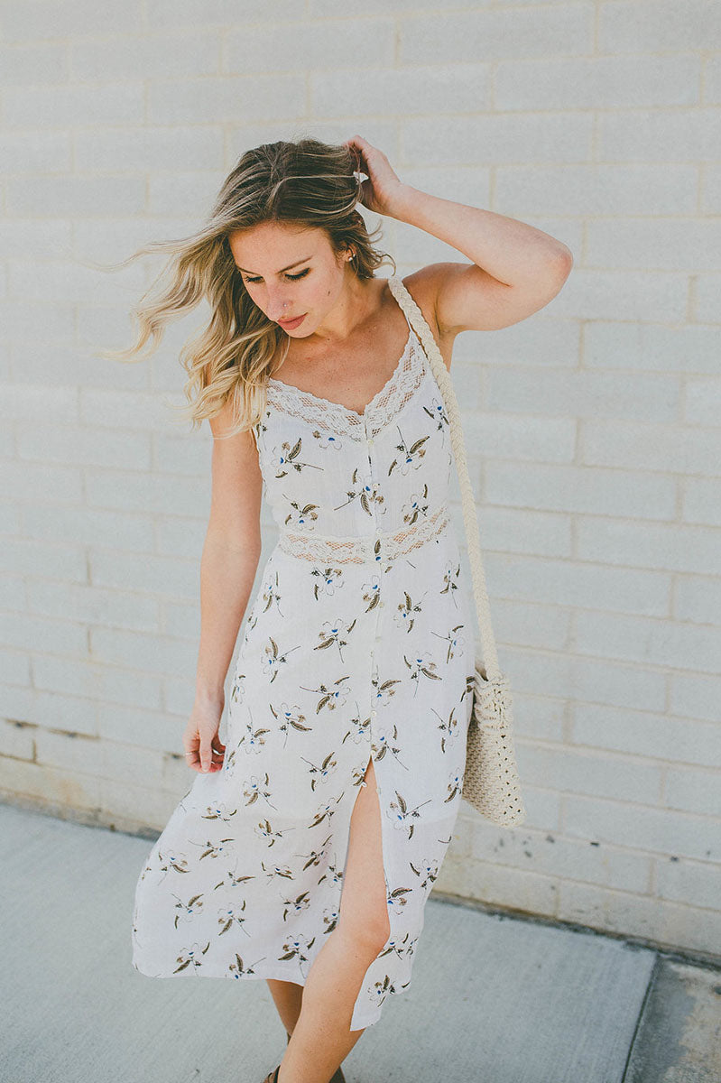 Natural Beauty Floral Dress