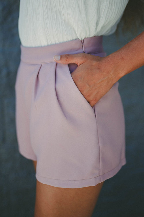 Want You Back Shorts (Mauve)