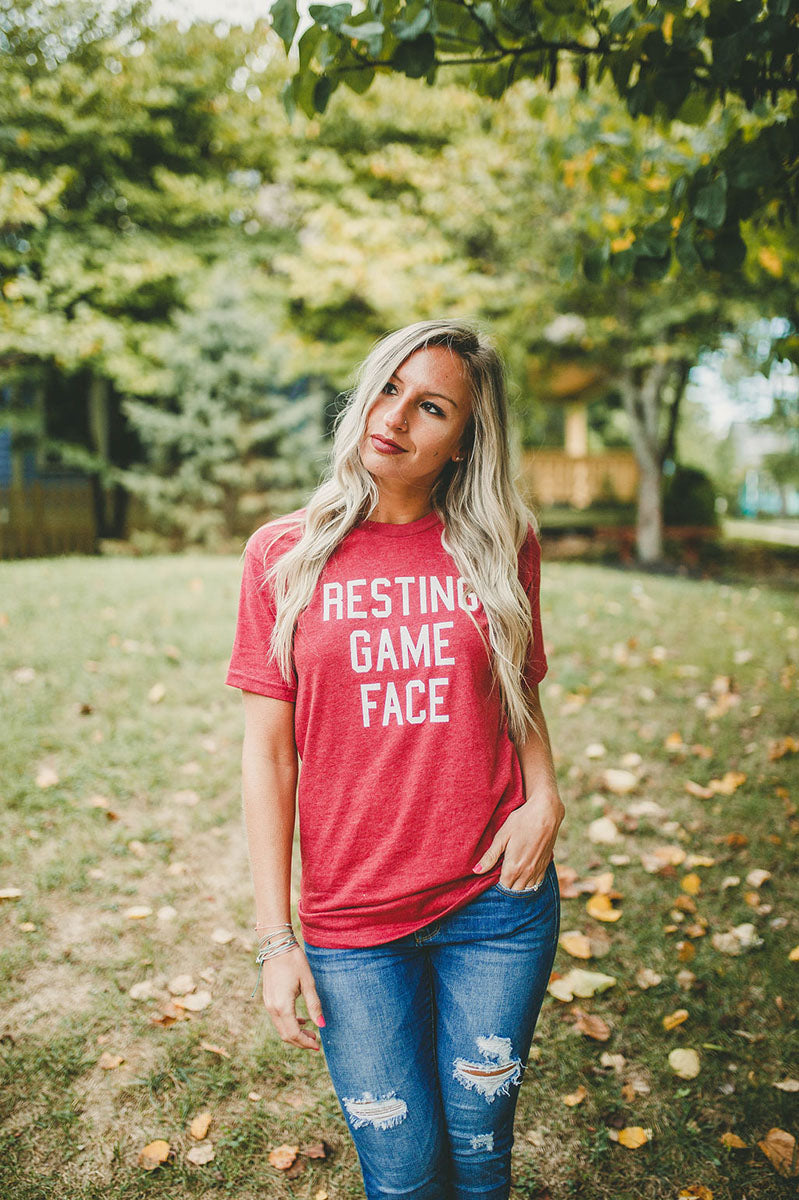 Resting Game Face Tee