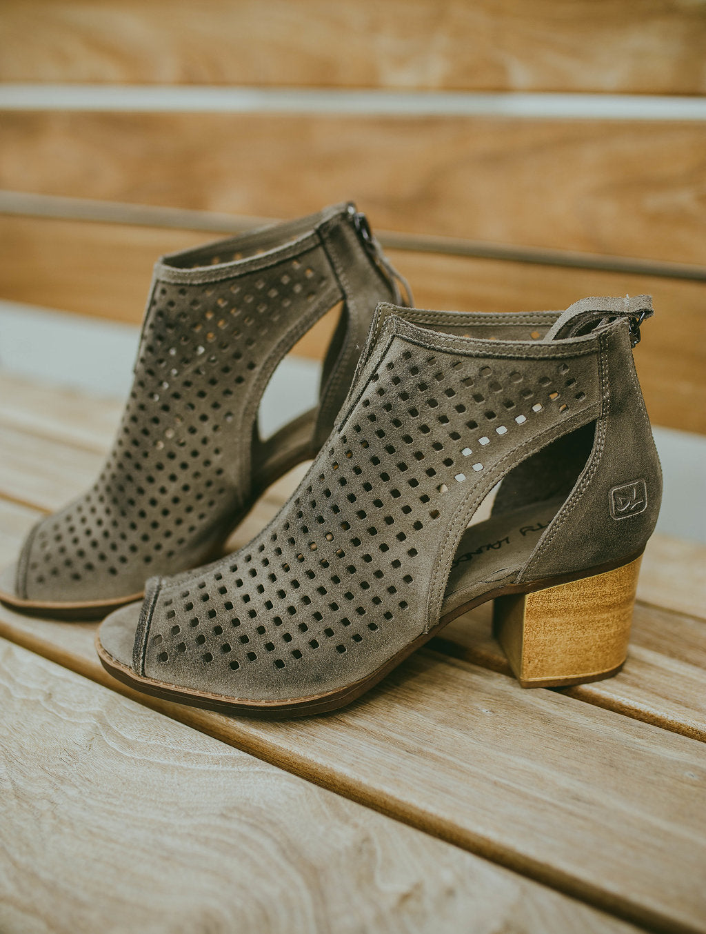 Tessa Split Suede Bootie By Dirty Laundry
