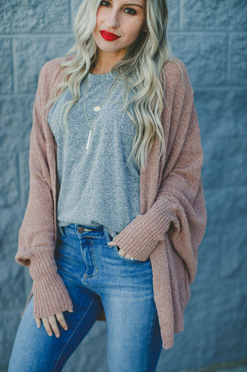 Under The Mistletoe Cardigan