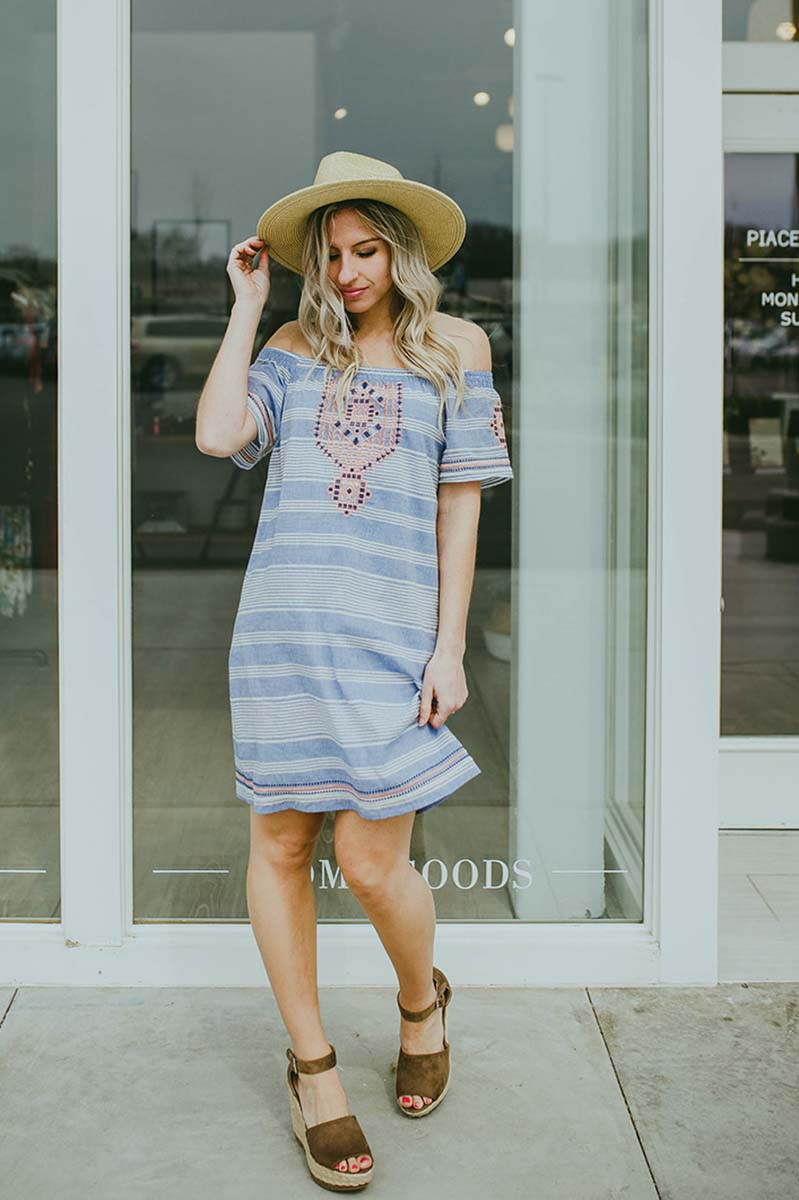 Amari Off Shoulder Dress