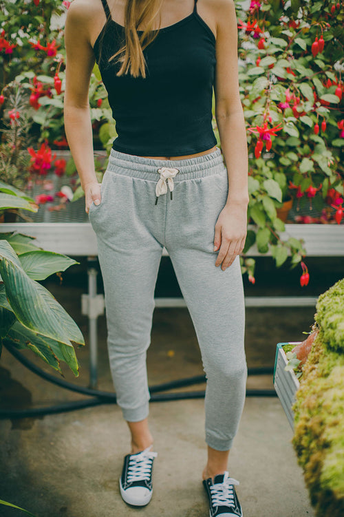 Forever Young Jogger Pants (Gray)