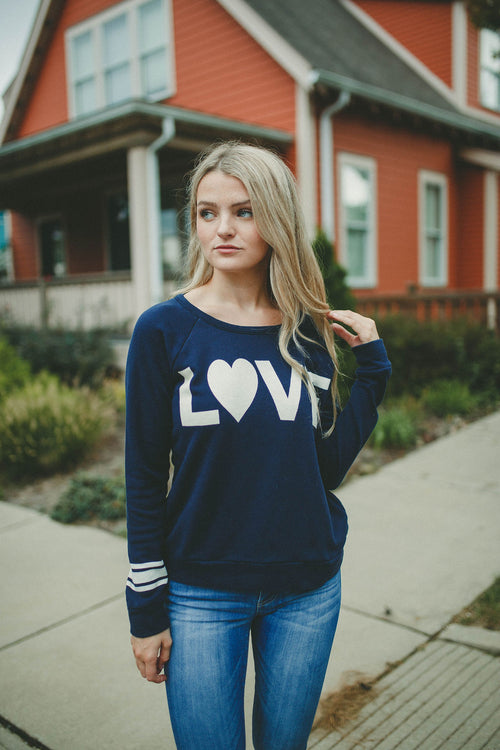 Chaser Big Love Fleece Pullover
