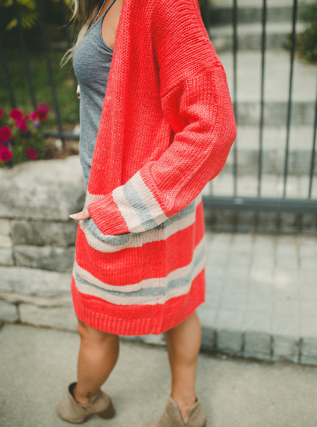 Meet You There Striped Cardigan FINAL SALE