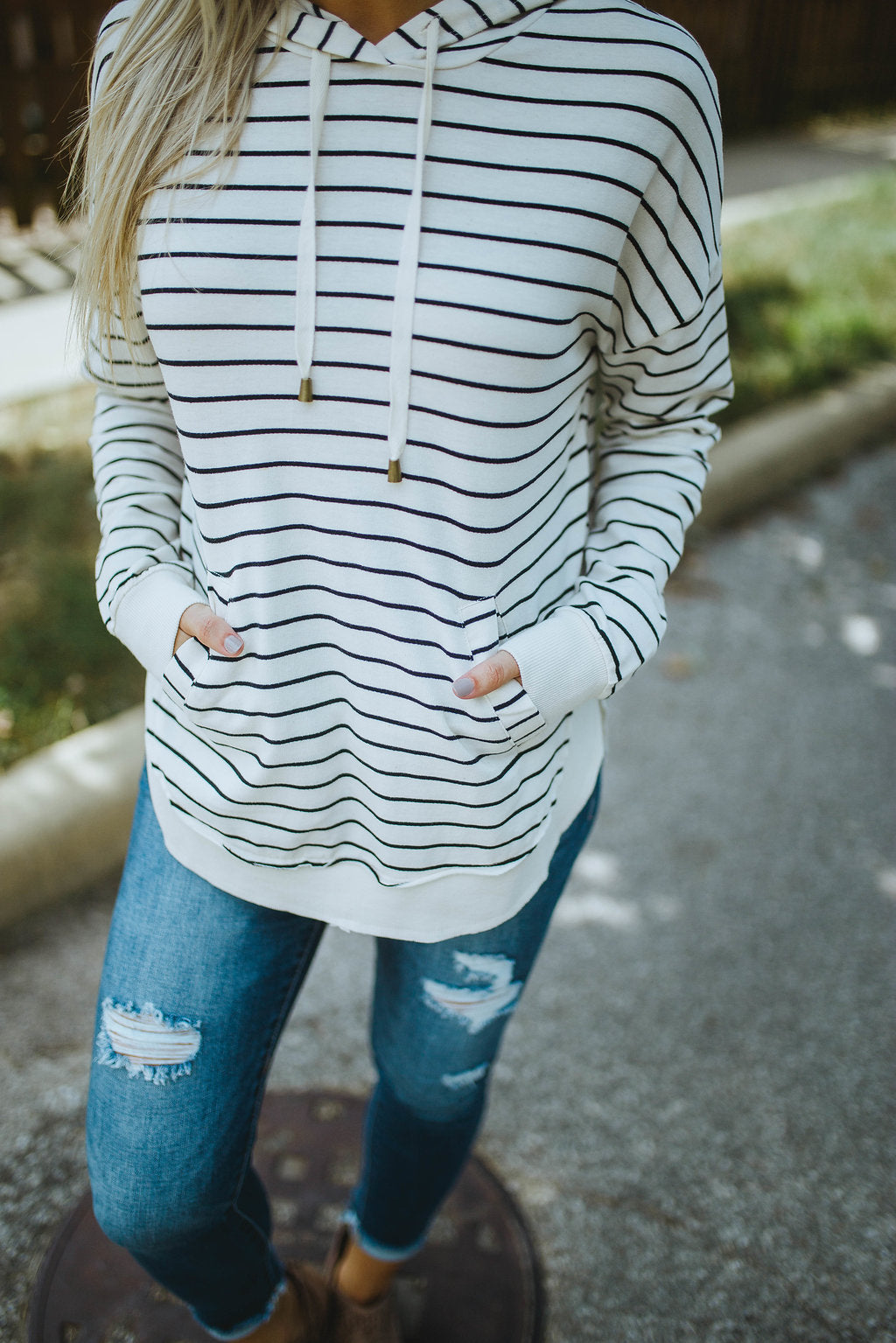 Z Supply The Striped Dakota Pullover