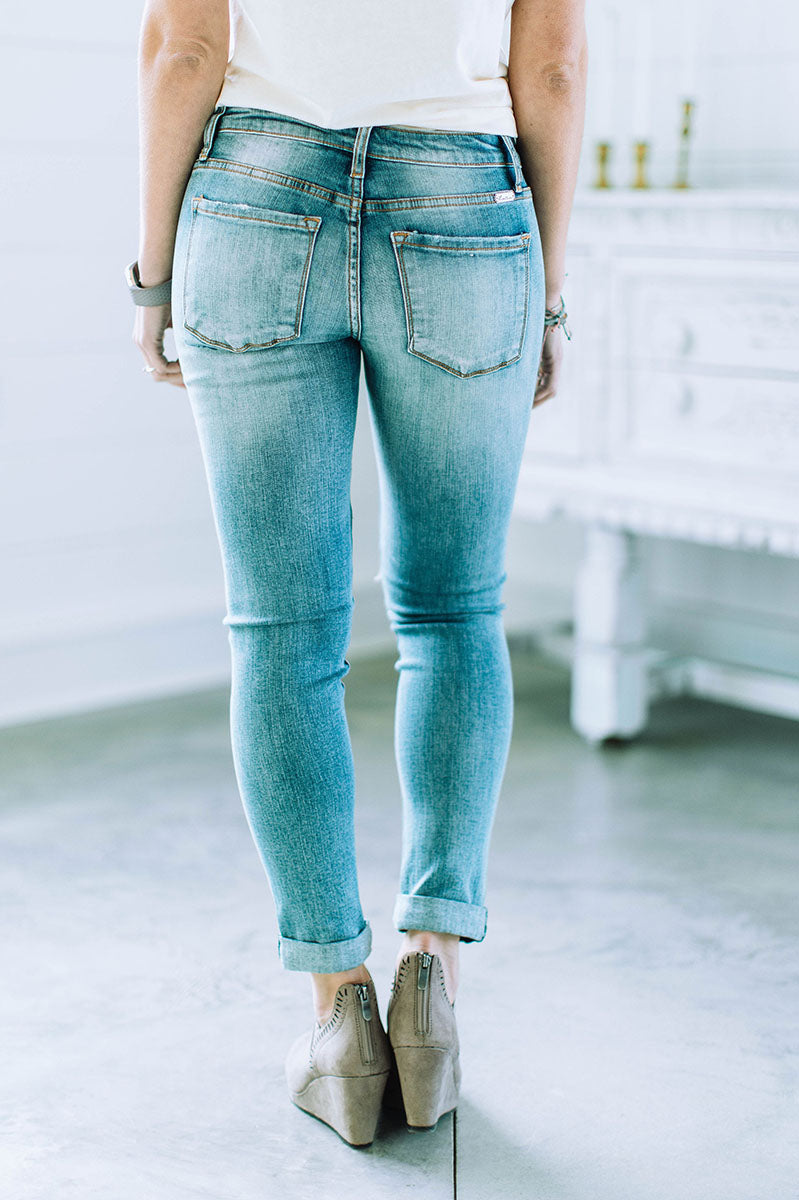 Look This Way Distressed Jeans