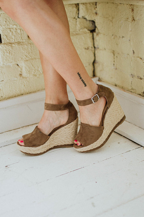Sunshine Woven Wedge FINAL SALE