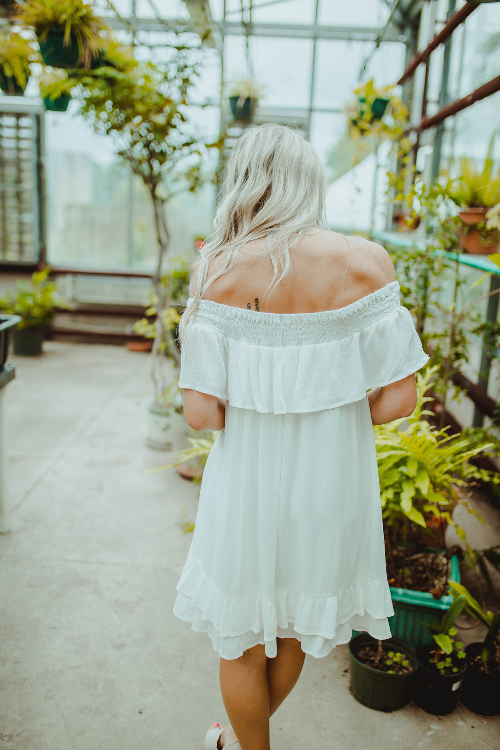 Waited For You Off Shoulder Dress FINAL SALE