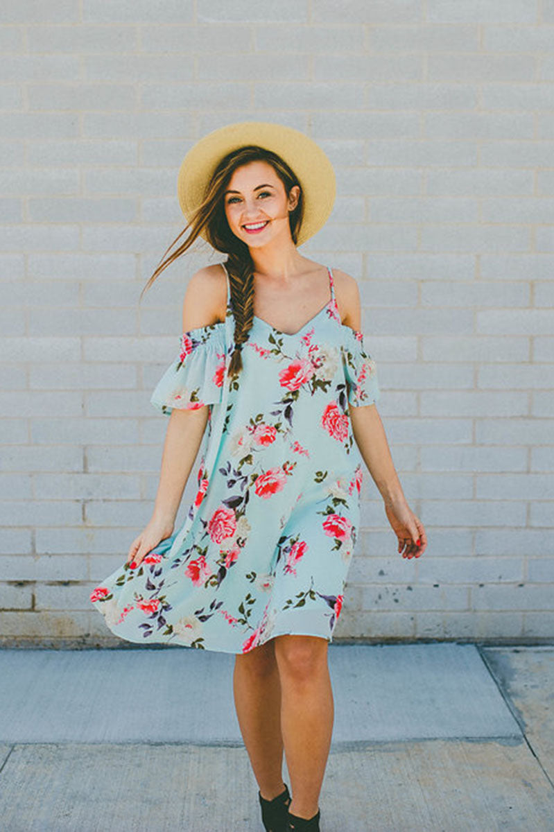 Hold Out For Me Floral Dress FINAL SALE