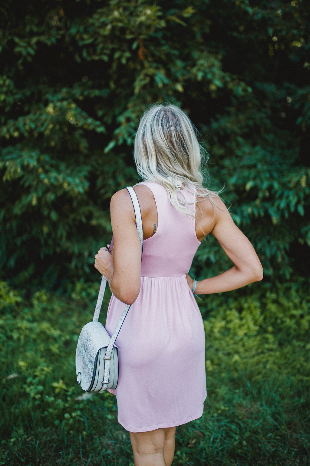 Peace Of Mind Dress-Pink
