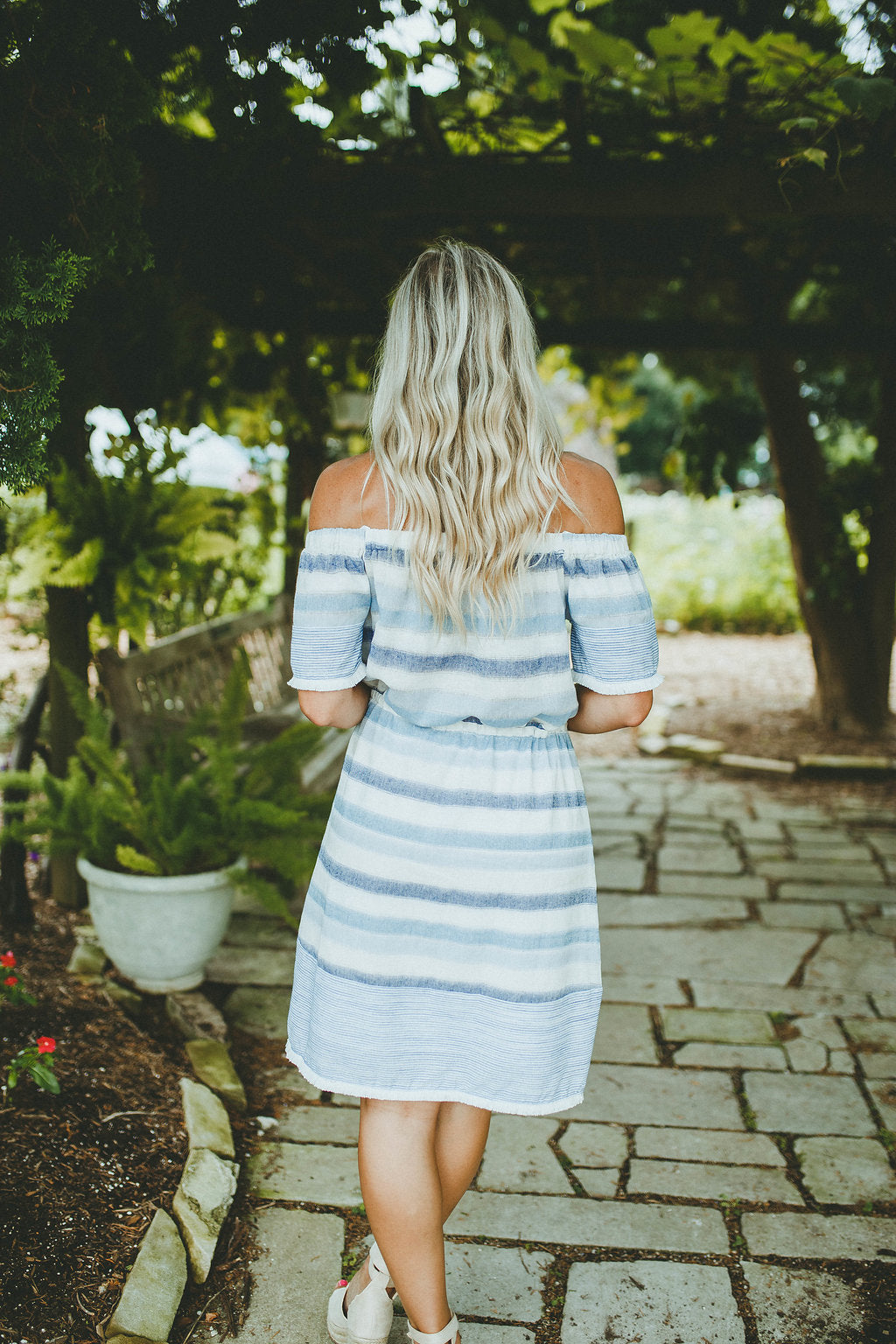 Day Dreaming Off Shoulder Dress