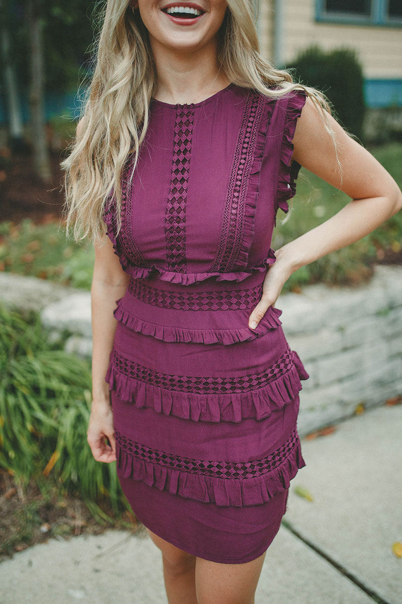 Forever Fun Ruffle Dress