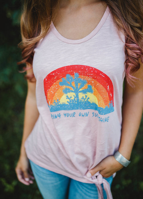 Bring Your Own Sunshine Tank FINAL SALE