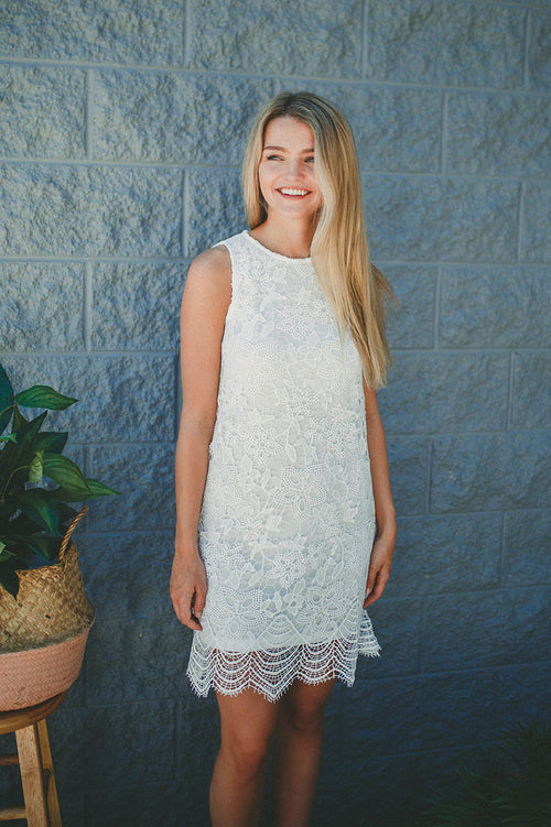 Just Breathe Lace Dress