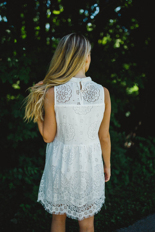 Sweet As Honey Lace Dress