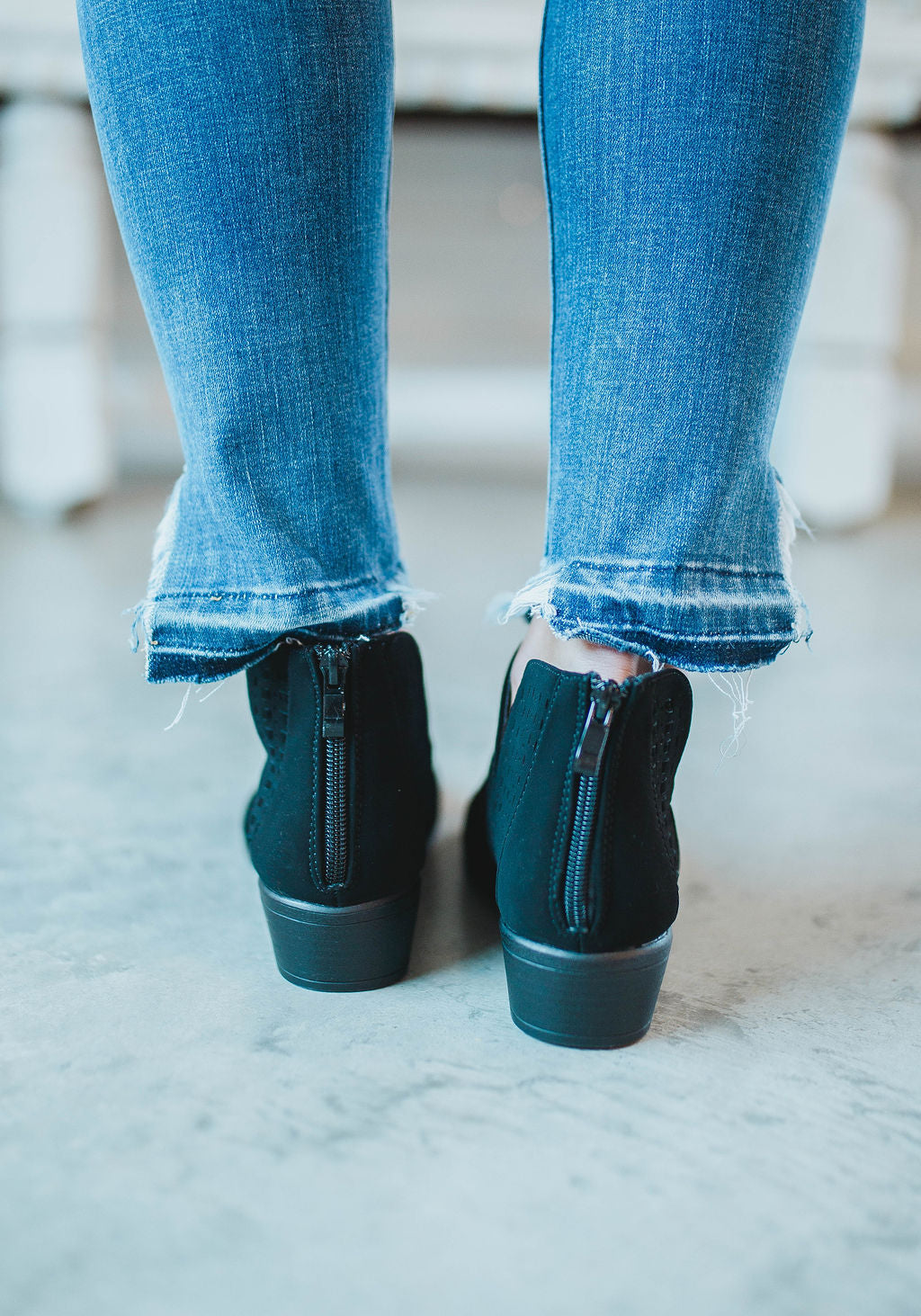 Essia Side Cut Bootie FINAL SALE