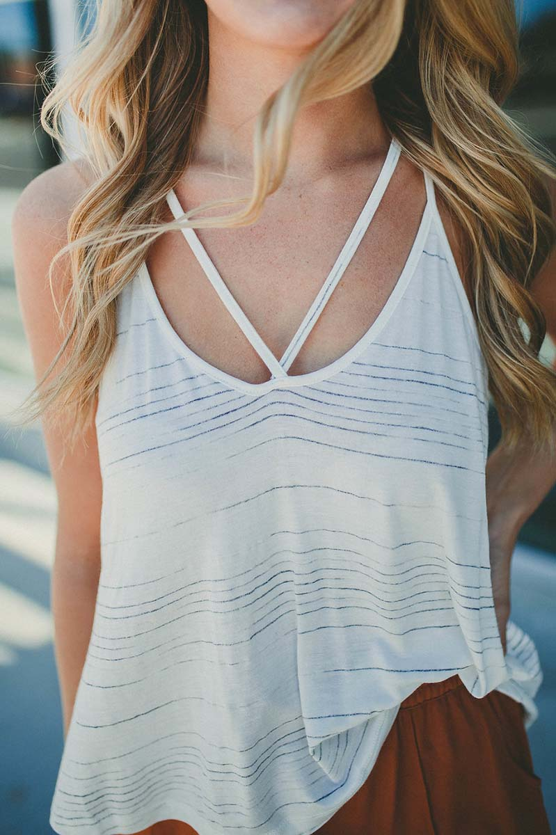 Jackie Strappy Back Tank FINAL SALE